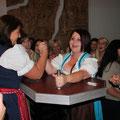 Handdrückbewerb-Siegerin Roswitha
