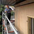 Fassade reinigen und vorbereiten für den Anstrich