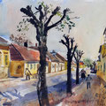 Wien *1902 - †1969 Wien Biedermannsdorf, 1961, PP 30 x 38 cm, Aquarell auf Papier