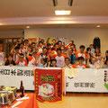 県別対抗団体戦 運営スタッフ記念撮影(2013/07/06信州大学繊維学部)