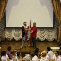 県別対抗団体戦 優勝旗贈呈 (2013/07/06信州大学繊維学部)