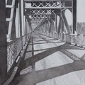 """ The Crooked Bridge - Nipawin Sask. """