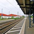 Delitzsch-Unterer Bahnhof, Gleis Richtung Bitterfeld, Foto: byskb