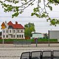 Delitzsch-Unterer Bahnhof, Terrain vor den Gleisen, Foto: byskb