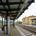 Delitzsch-Unterer Bahnhof, Gleis Richtung Leipzig, Foto: byskb