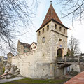 Sanierung Mauern am Schloss Laufen am Rheinfall     (Architekturbüro Johann Frei)