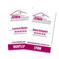 Création des cartes de visites pour La Cible (Chasseur de biens immobiliers)