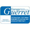 Création du logo pour le Garage Guerret