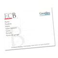 Création du logo et de la carte de visite pour ECB (Technicien PVC)