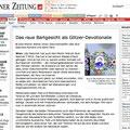 Wiener Zeitung (online) 19. April Wiener Zeitung (print) 20. April  Teil I