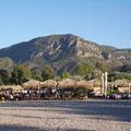Abdendstimmung am Strand von Rizomilos (5 km entfernt)