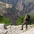 kurz vor Ano Mavriki: grandiose Bergformationen eröffnen sich