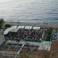 Bar am Meer in Aghio