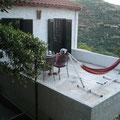 Terrasse mit Hängematte