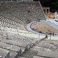 das Theater von Epidaures