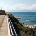 an der Küste nach Athen