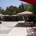 zentraler Platz in Aghio