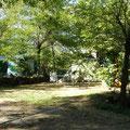 Emplacement camping à la ferme Ardèche