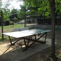 Ping pong camping à la ferme Ardèche Rosières