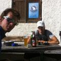 Verdientes Bier auf der Höttinger