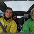 die 3 im Jeep