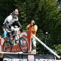 Häuptling Gruppe aussergewöhnlicher Mountainbike Spezialisten