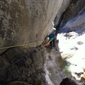letzte Kletterstelle