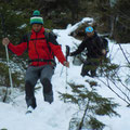 die Climbing-Hiking Jungs...