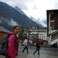 Mont Blanc im Regen