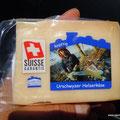 So muß Käse sein: mit der Stihl geschnitten...