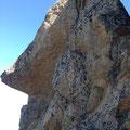 Fels wie in Chamonix