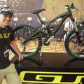 Hans und sein neues Bike