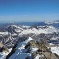 am Gipfel des Pico D´Alba