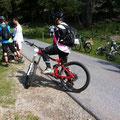 650B Bikes waren vereinzelt zu sehen