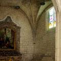 Chapelle Saint Sébastien (croisillon sud du transept)