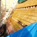Bord de toiture en cuivre