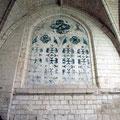 Travée du transept obturée en 1699.