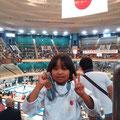 森島碧妃選手2013年9月 糸東会世界大会 オープン戦 第3位