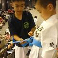 糸東会全国大会出場(小2)