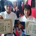 県少年少女大会3位入賞