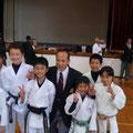 長谷川先生の空手セミナーへ参加