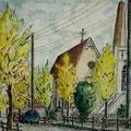 清教幼稚園前の通り 6号 1994.11