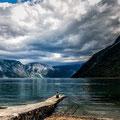 Norwegen Blick auf den Eidfjord