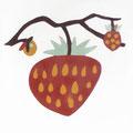 SOUTHERN TILES_CAROCIM Zementfliese_Tree of Life_Fraise VH208, 20x20 cm