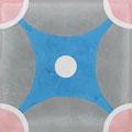 SOUTHERN TILES_CAROCIM Zementfliese, Petit Pan_Galaxie PAN22, 20x20 cm
