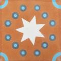 SOUTHERN TILES_CAROCIM Zementfliese, Petit Pan_Kermesse PAN121, 20x20 cm