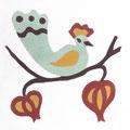 SOUTHERN TILES_CAROCIM Zementfliese_Tree of Life_Physalis VH204, 20x20 cm