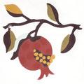 SOUTHERN TILES_CAROCIM Zementfliese_Tree of Life_Grenade VH201, 20x20 cm