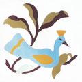 SOUTHERN TILES_CAROCIM Zementfliese_Tree of Life_Oiseau VH205, 20x20 cm