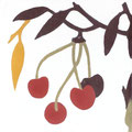SOUTHERN TILES_CAROCIM Zementfliese_Tree of Life_Cerises VH202, 20x20 cm
